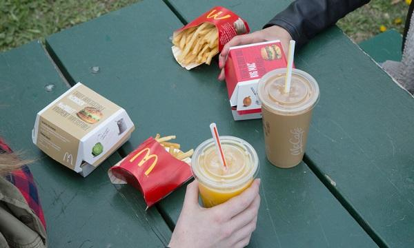 how much food does mcdonalds waste