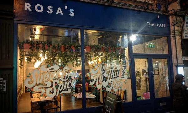 Parent company of Rosa's Thai Cafe reports turnover growth