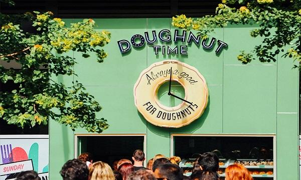 Image result for doughnut time london