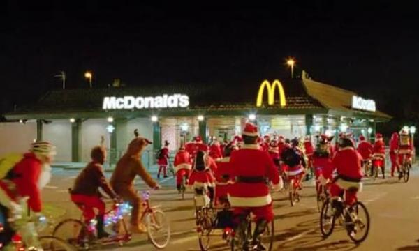 saying mcdonalds christmas ad - 600×360