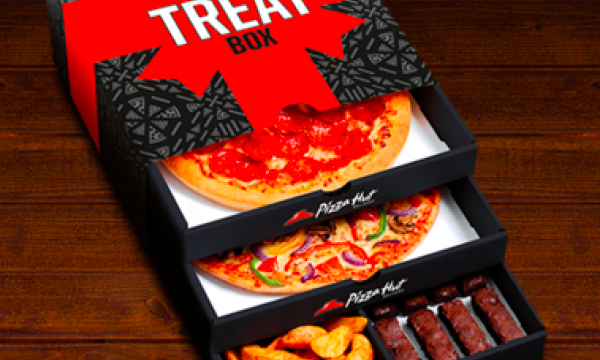Pizza Hut Delivery Launches Triple Treat Box For The First Time In UK