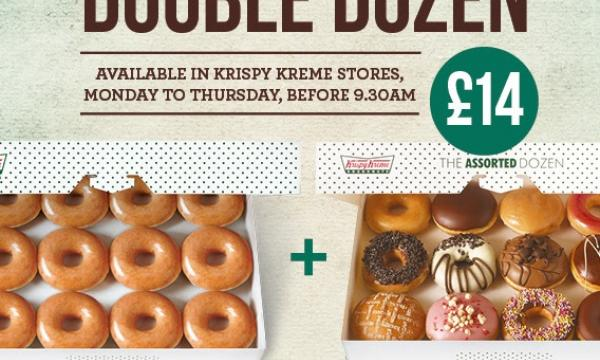 Krispy Kreme 24 for £13 @ Tesco instore - Box of 12 Original + Box of 12 mixed.