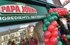 Papa John\'s opens new store in Scotland