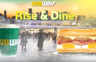 Subway launches brand\'s first augmented reality advertisement