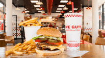 Five Guys to open new flagship store at London's Bishopsgate
