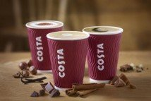 Costa Coffee gives 5% pay rise to 14,500 staff